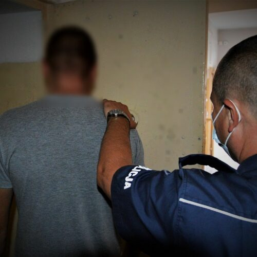 Poszukiwany 26-latek odpowie za kradzież torebki